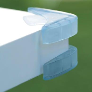 Furniture child protection Trasparente in plastica / pvc Sp 30 mm 4 pezzi