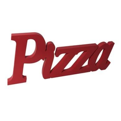 Scritta Pizza 55x20 cm