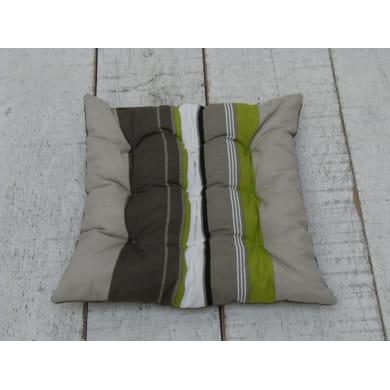 Cuscino per sedia Lola mineral 37x40 cm