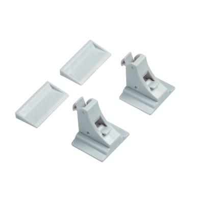 Cupboard child protection Magnetico, 2 chiusure in plastica / pvc Sp 60 mm 2 pezzi