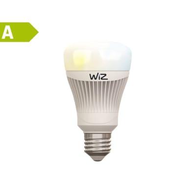 Lampadina LED E27, Goccia, Opaco, Colore cangiante, RGB, 11.5W=806LM (equiv 60 W), 150° , WIZ , set di 2 pezzi