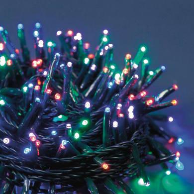 Catena luminosa 1000 lampadine LED multicolore 4 m