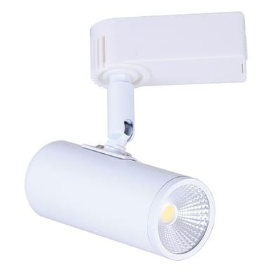 Binario Ares in alluminio bianco LED