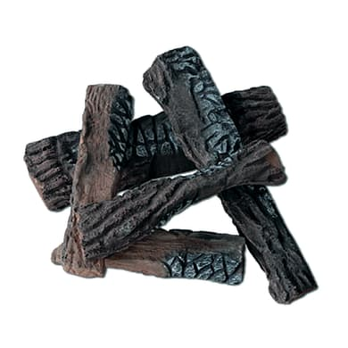 Graniglia Pezzi di legno assortiti in ceramica