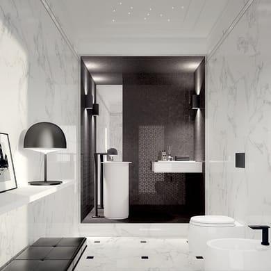 Piastrella per rivestimenti Murano L 30.5 x H 56 cm bianco