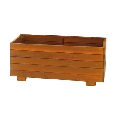Fioriera Berty in legno colore marrone H 40 cm, L 98 x P 40 cm