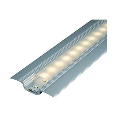 Profilo con cover, grigio / argento, 1 m