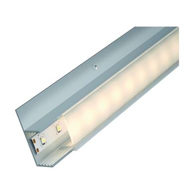 Profilo con cover, grigio / argento, 2 m