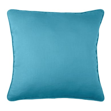 Cuscino grande Ramie canard blu 50x50 cm