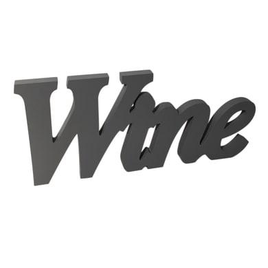 Scritta Wine 55x20 cm