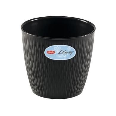 Vaso Liberty STEFANPLAST in plastica H 23 cm, Ø 25 cm