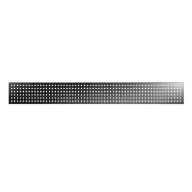 Inserto COMPOSITE PREMIUM Cubic grigio scuro 148.3 x 18 cm