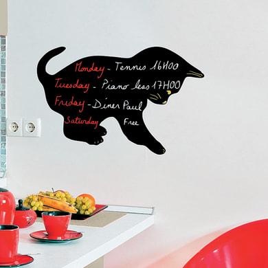 Lavagna per gesso gatto nero 48x28.8 cm