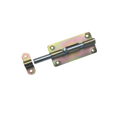Chiavistello sovrapposto STANDERS in acciaio L 36 x H 74 mm