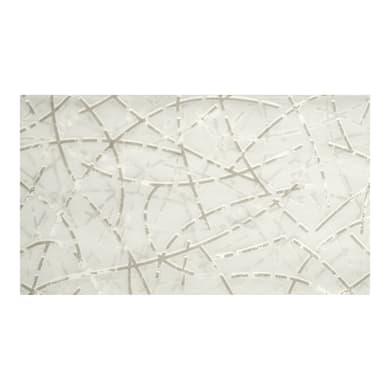 Tessuto Linee/curve bianco 300 cm