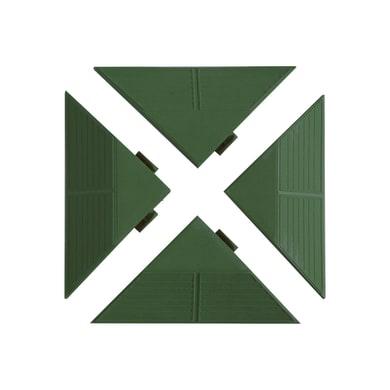 Profilo angolare verde 4 pz