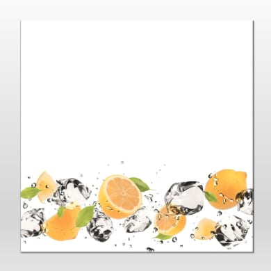 Lavagna Orange splash multicolor 28x28 cm