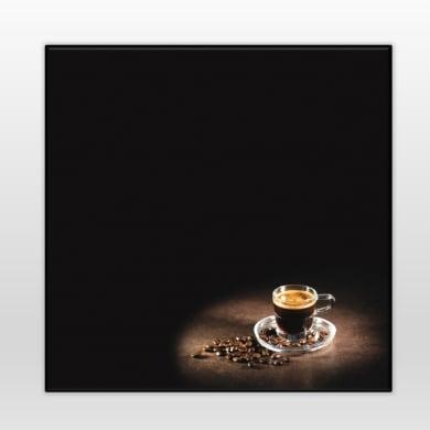 Lavagna senza cornice Coffee multicolor 28x28 cm
