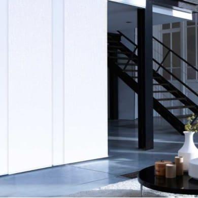 Pannello giapponese INSPIRE resinato Manhattan bianco 60x300 cm