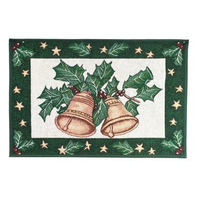 Tappeto antiscivolo Master Natale ass multicolore 40x65 cm