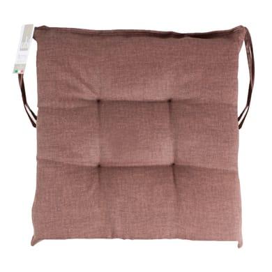 Cuscino per sedia carlo marrone 40x40 cm