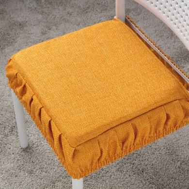 Cuscino per sedia Antonella oro 42x42 cm