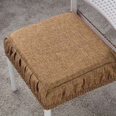Cuscino per sedia Antonella ecrù 42x42 cm