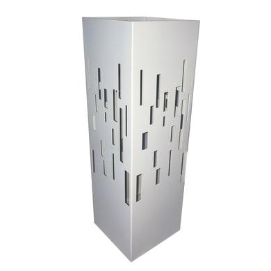 Portaombrelli in metallo bianco