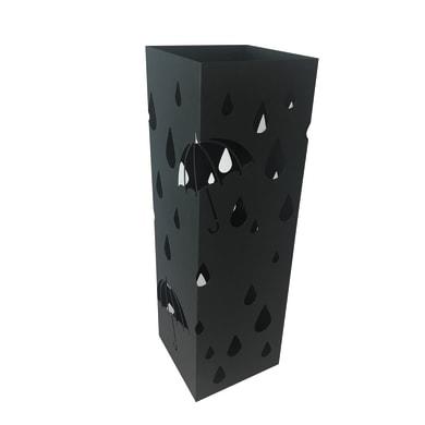 Portaombrelli in metallo nero