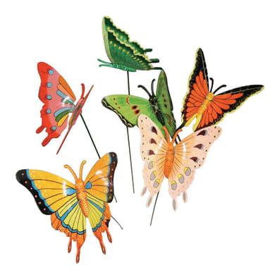 Decorazione in plastica Farfalla
