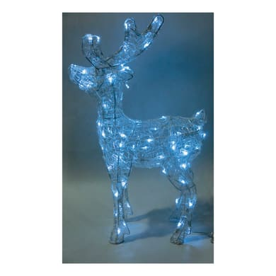 Lampada 80 lampadine bianco freddo H 60 cm