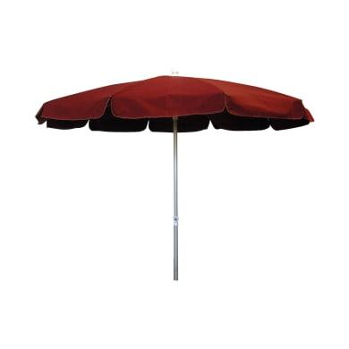 Ombrellone NATERIAL Ita 002 L 2.4 x P 2.4 m color rosso