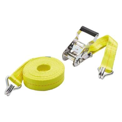 Cinghia con cricchetto e gancio STANDERS L 5 m x H 35 mm 1000 kg