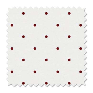 Tessuto al taglio Pois rosso 100 cm