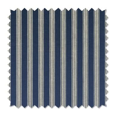 Tessuto al taglio Righe blu 285 cm