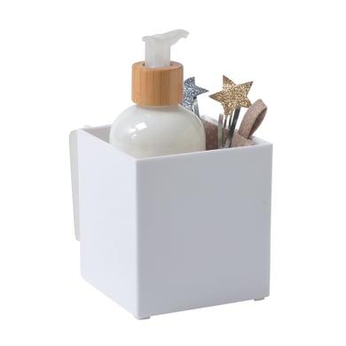 Organizer bagno Cie richL 10.2 x H 10 cm Ø 95 cm bianco