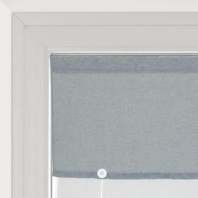 Tendina vetro Aurelia grigio tunnel 58 x 240 cm