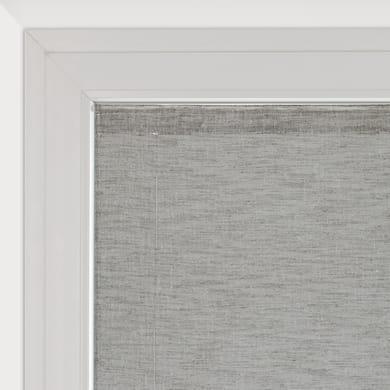 Tendina vetro Cambogia grigio tunnel 60 x 150 cm