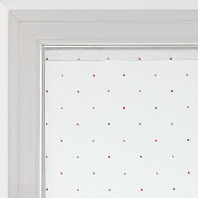Tendina vetro Camilla bianco tunnel 60 x 150 cm