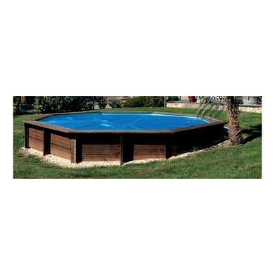 Copertura per piscina GRE 784799 in polietilene 452 x 452 cmØ 452 cm