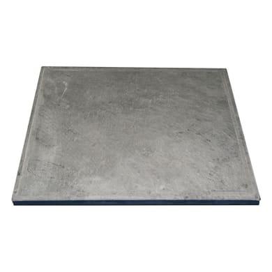 Pietra per barbecue in pietra ollare L 50 x P 40 cm