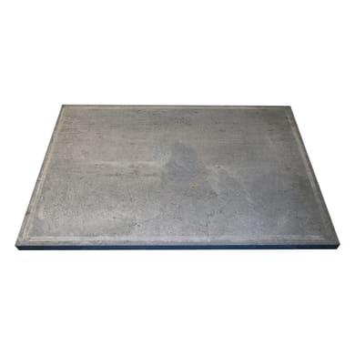 Pietra per barbecue in pietra ollare L 60 x P 40 cm