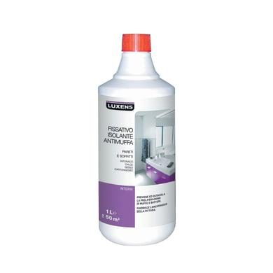 Fissativo LUXENS base acqua interno isolante antimuffa 1 L