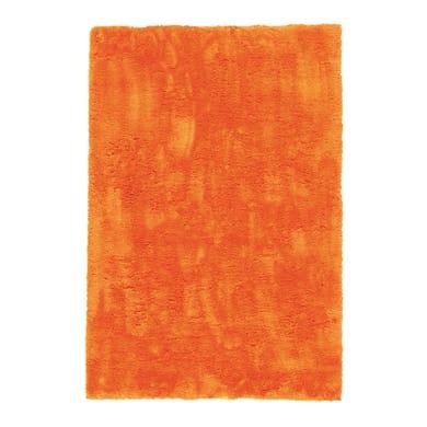 Tappeto Shaggy coccole , arancione, 133x190