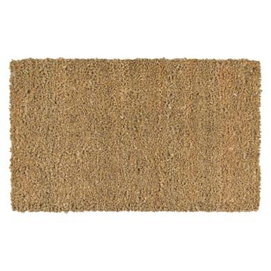 Zerbino Greggio in cocco beige 100x120 cm