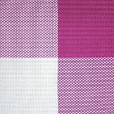 Tovaglietta americana Squares fucsia 45x30 cm