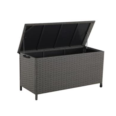 Baule da esterno NATERIAL in alluminio grigio 136 x 54 cm