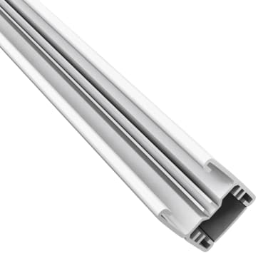 Profilo COMPOSITE PREMIUM Premium in alluminio H 150 x L 3 bianco