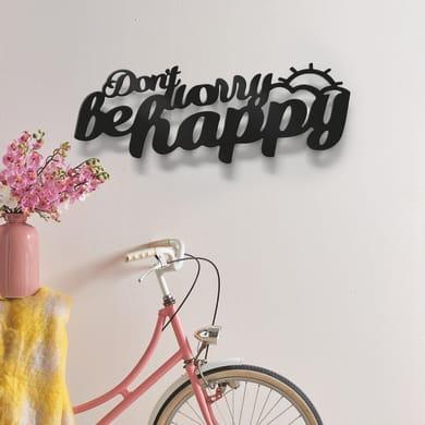 Fregio Be Happy nero 60 cm x 0.2 m
