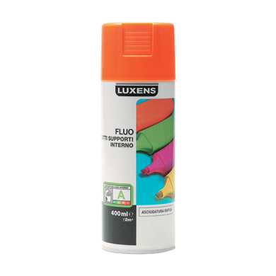 Smalto spray LUXENS FLUO arancio fluorescente 0.0075 L